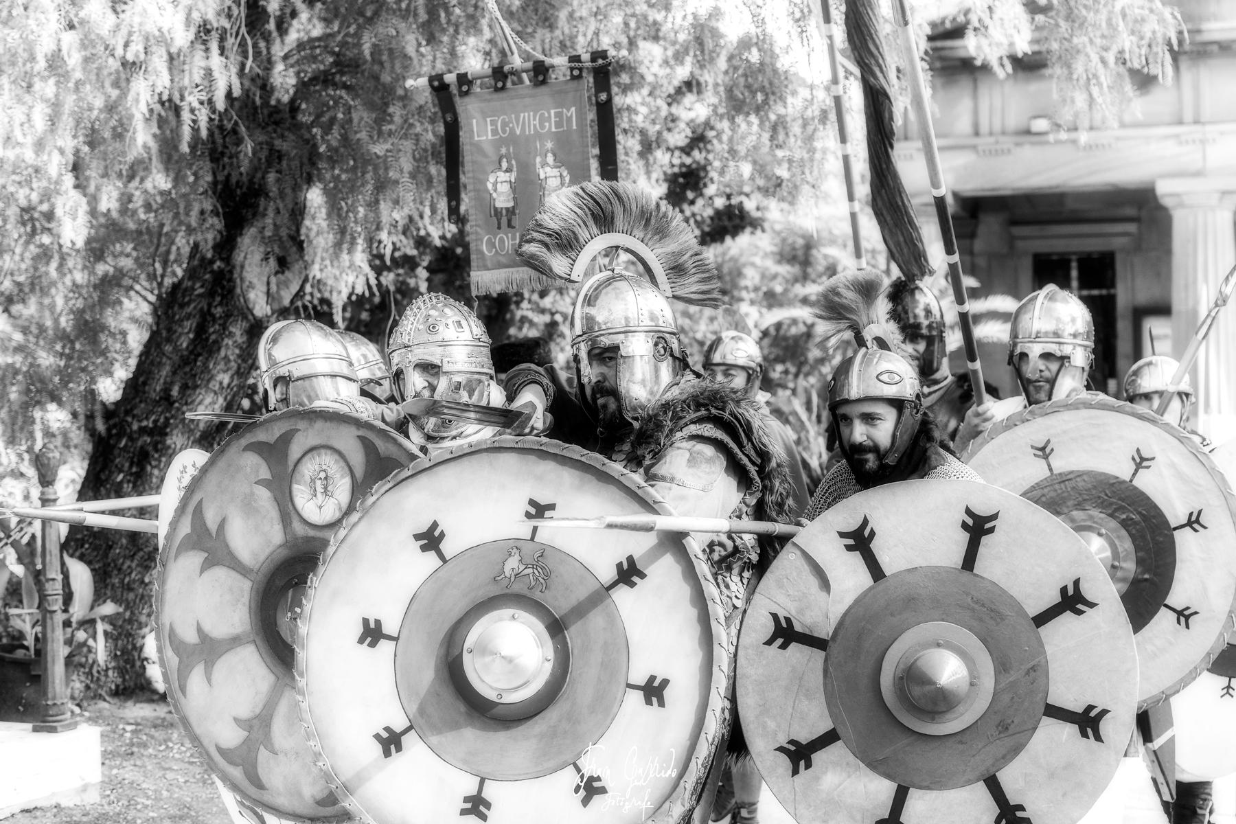 Recreación Histórica. Legio VII Gemina Felix Cohors V Baetica. Traditio Malacitana.