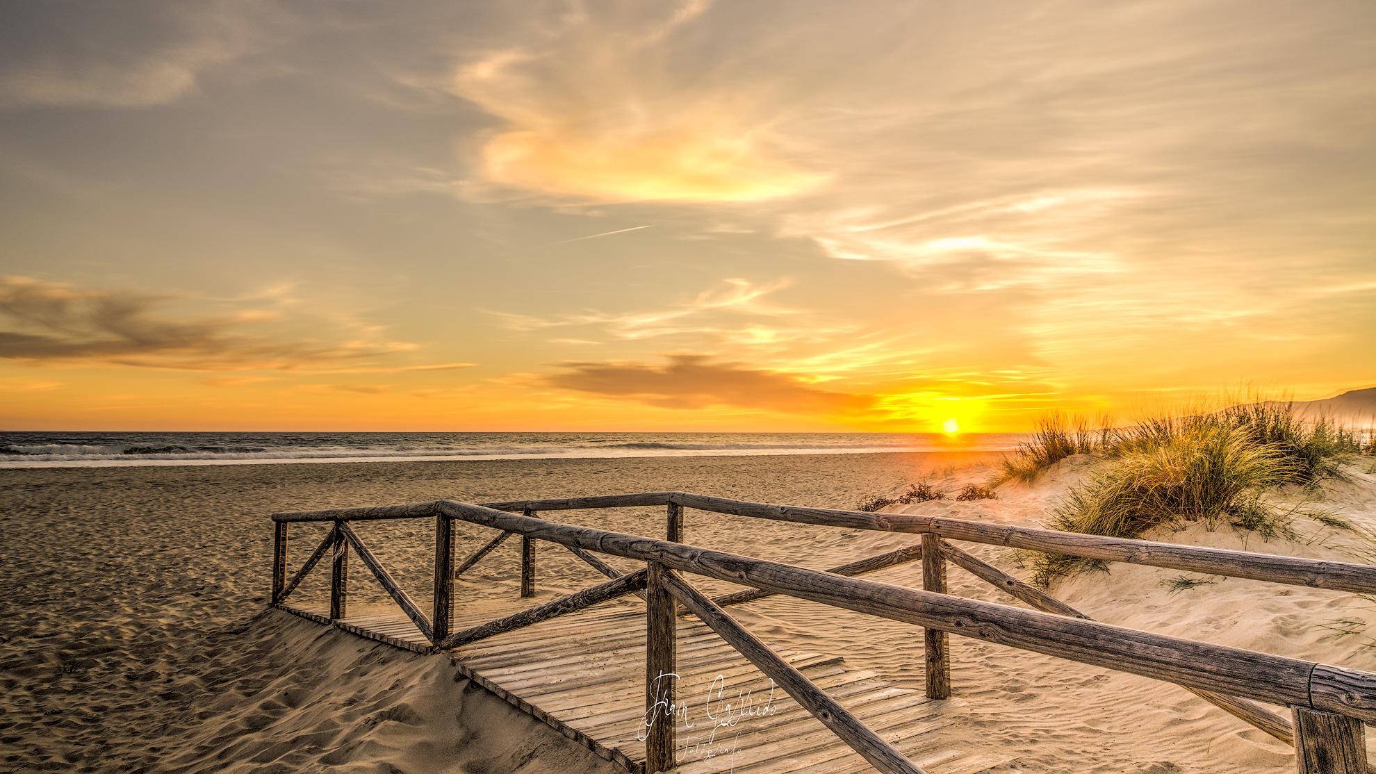 Puesta de Sol en Tarifa (Cádiz)